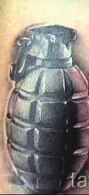 тату граната фото готовой татуировки для статьи про значение тату – tatufoto.ru 34