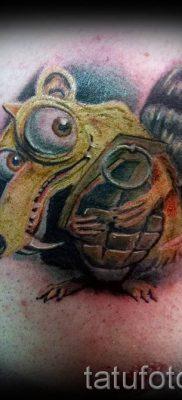 тату граната фото готовой татуировки для статьи про значение тату – tatufoto.ru 43