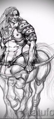 тату кентавр фото – пример для статьи про значение татуировки кентавр – tatufoto.ru – 1
