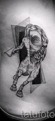 тату кентавр фото – пример для статьи про значение татуировки кентавр – tatufoto.ru – 2