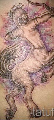 тату кентавр фото – пример для статьи про значение татуировки кентавр – tatufoto.ru – 5