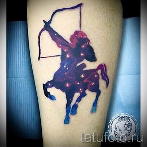 тату кентавр фото - пример для статьи про значение татуировки кентавр - tatufoto.ru - 10