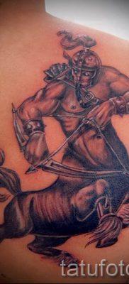 тату кентавр фото – пример для статьи про значение татуировки кентавр – tatufoto.ru – 11