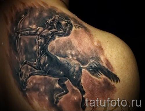 тату кентавр фото - пример для статьи про значение татуировки кентавр - tatufoto.ru - 17