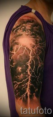 тату молния фото для стати про значение татуировки – tatufoto.ru – 10