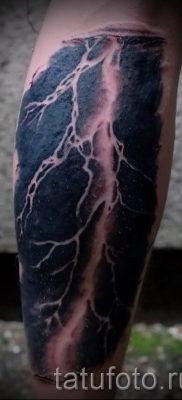 тату молния фото для стати про значение татуировки – tatufoto.ru – 17