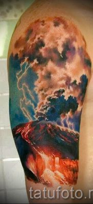 тату молния фото для стати про значение татуировки – tatufoto.ru – 20