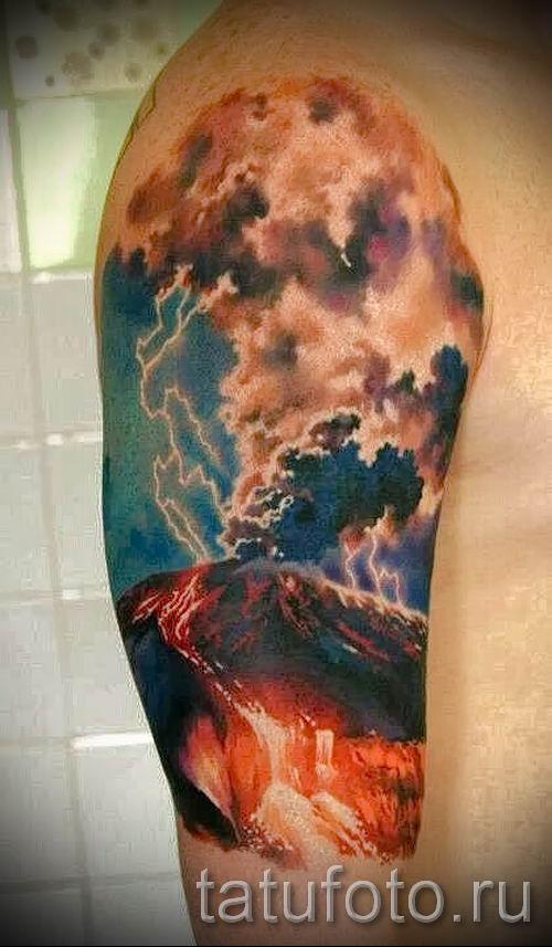 тату молния фото для стати про значение татуировки - tatufoto.ru - 20