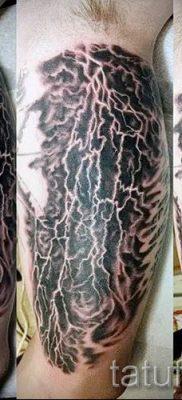 тату молния фото для стати про значение татуировки – tatufoto.ru – 27