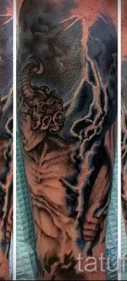 тату молния фото для стати про значение татуировки – tatufoto.ru – 31