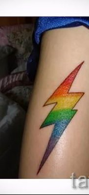 тату молния фото для стати про значение татуировки – tatufoto.ru – 34