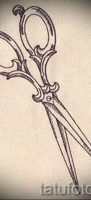 тату ножницы фото пример для статьи про значение рисунка татуировки – tatufoto.ru – 7
