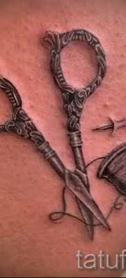 тату ножницы фото пример для статьи про значение рисунка татуировки – tatufoto.ru – 27