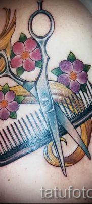 тату ножницы фото пример для статьи про значение рисунка татуировки – tatufoto.ru – 34