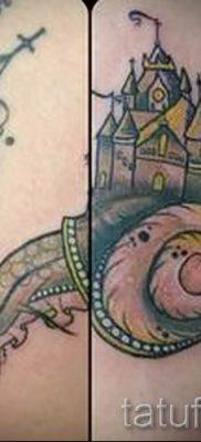тату улитка фото – пример тату для статьи про значение татуировки – tatufoto.ru – 7