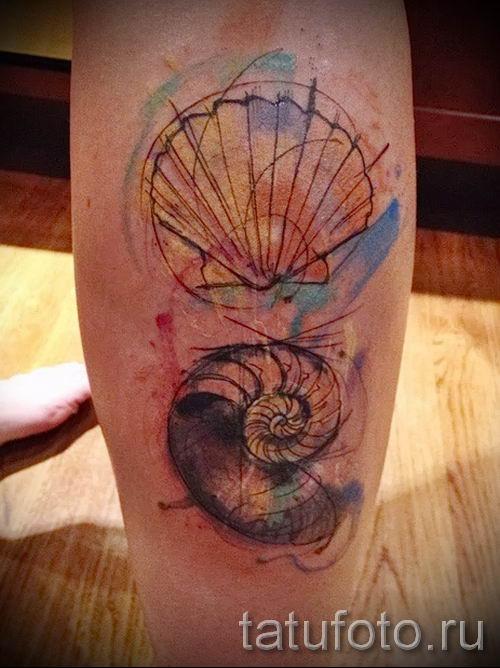 тату улитка фото - пример тату для статьи про значение татуировки - tatufoto.ru - 60