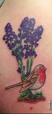 фото пример тату лаванда для статьи про значение этой татуировки 20