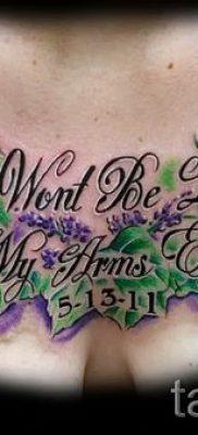 фото пример тату лаванда для статьи про значение этой татуировки 33