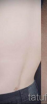 фото пример тату лаванда для статьи про значение этой татуировки 40