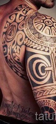 фото пример тату маори – для статьи про значение рисунков 2