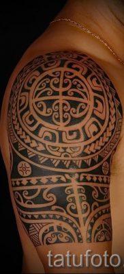 фото пример тату маори – для статьи про значение рисунков 4