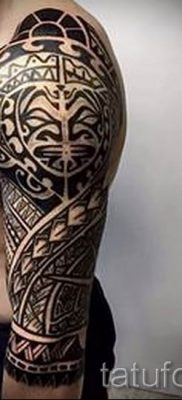 фото пример тату маори – для статьи про значение рисунков 9