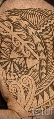 фото пример тату маори – для статьи про значение рисунков 11