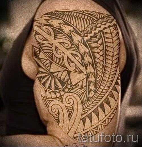 фото пример тату маори - для статьи про значение рисунков 11