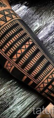 фото пример тату маори – для статьи про значение рисунков 14