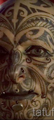 фото пример тату маори – для статьи про значение рисунков 18