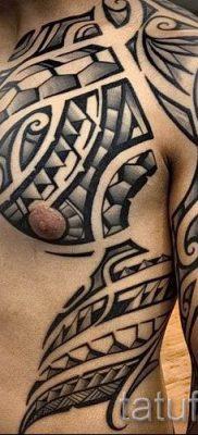 фото пример тату маори – для статьи про значение рисунков 23