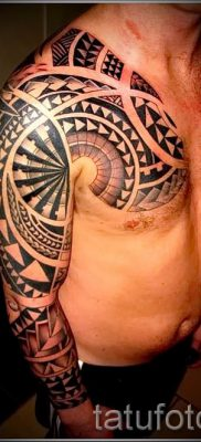 фото пример тату маори – для статьи про значение рисунков 24