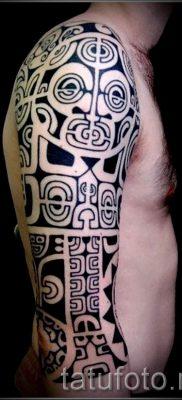 фото пример тату маори – для статьи про значение рисунков 26
