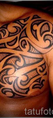 фото пример тату маори – для статьи про значение рисунков 30