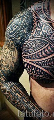 фото пример тату маори – для статьи про значение рисунков 32