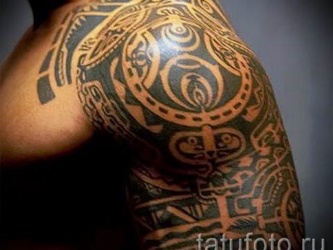 фото пример тату маори - для статьи про значение рисунков 33