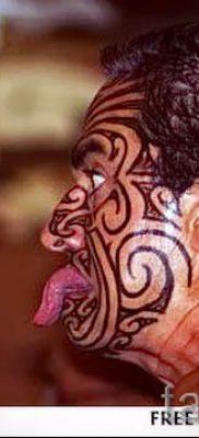 фото пример тату маори – для статьи про значение рисунков 34