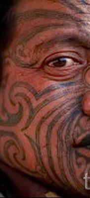 фото пример тату маори – для статьи про значение рисунков 36