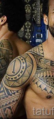 фото пример тату маори – для статьи про значение рисунков 39