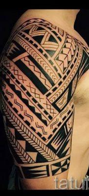 фото пример тату маори – для статьи про значение рисунков 40
