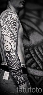 фото пример тату маори – для статьи про значение рисунков 42