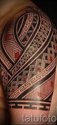 фото пример тату маори – для статьи про значение рисунков 48