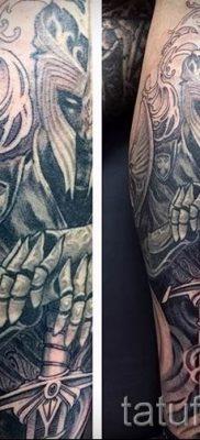 фото пример тату меч – картинка для статьи про значение татуировки 29