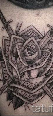 фото пример тату меч – картинка для статьи про значение татуировки 49