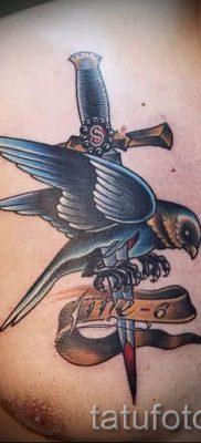 фото пример тату меч – картинка для статьи про значение татуировки 51