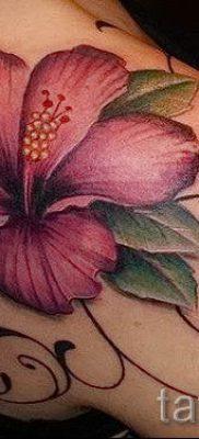 фото татуировки фиалка для статьи про значение тату фиалка – tatufoto.ru – 17