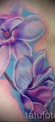 фото татуировки фиалка для статьи про значение тату фиалка – tatufoto.ru – 18