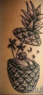 фото тату ананас для статьи про значение татуировки с ананасом – tatufoto.ru – 14