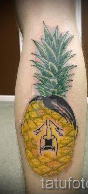 фото тату ананас для статьи про значение татуировки с ананасом – tatufoto.ru – 24