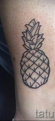 фото тату ананас для статьи про значение татуировки с ананасом – tatufoto.ru – 28